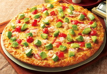 Avocado & Snow Crab Pizza