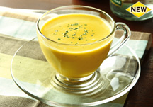 Pumpkin ��ream soup (cold)