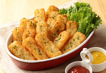 Roasted potato�i18 pieces�j