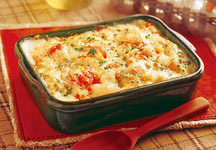 Shrimp & Snow Crab Penne Gratin