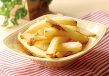 Consomme flavored french fries