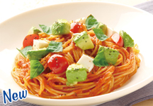 Fresh Avocado & Mozzarella Chilled Pasta